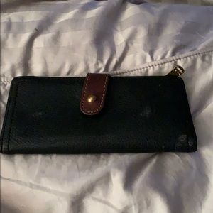 Black/brown wallet